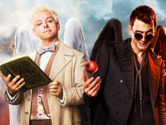 Good omens série télé dvd blu-ray