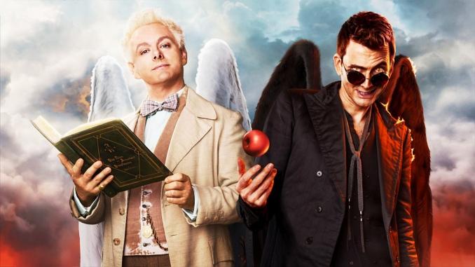 Good omens série télé dvd blu-ray