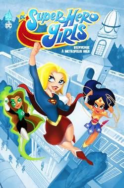 dc super hero girls metroplis