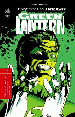 green lantern emerald twilight couverture