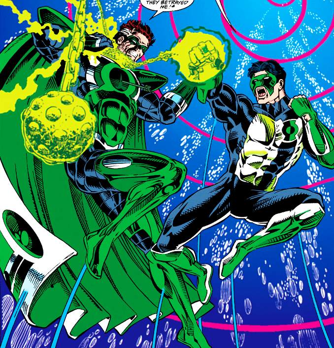 green lantern emerald twilight parallax Kyle Rayner