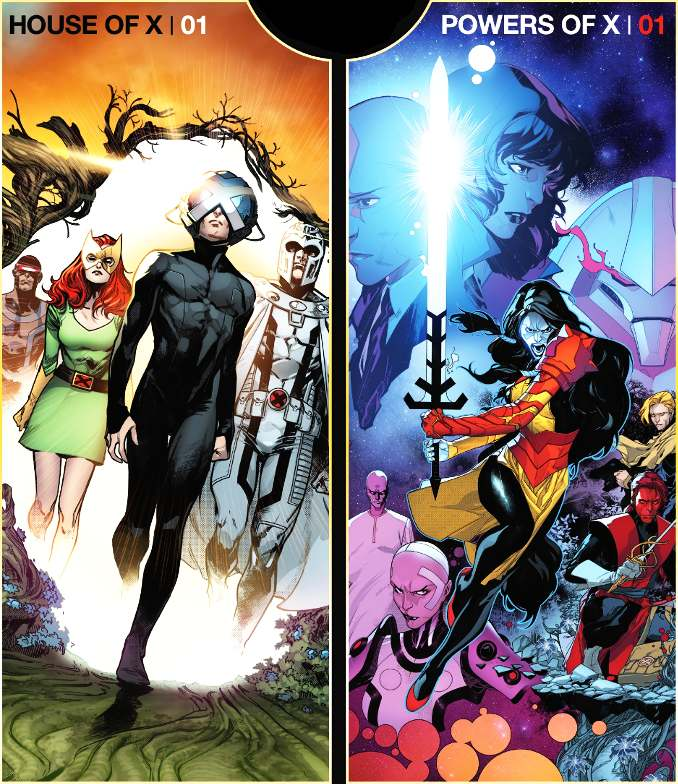 guide comics x-men jonathan hickman house of x powers of x