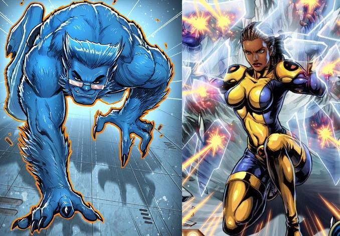 couples X-Men