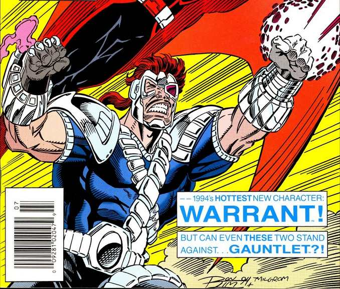 Warrant Nightwatch Armure