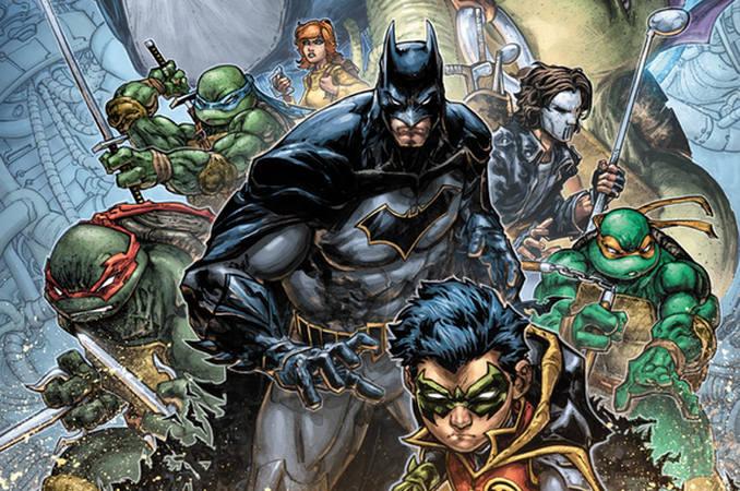 Batman Robin & Tortues Ninja