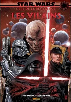 Star Wars Age Résistance Vilains Couverture