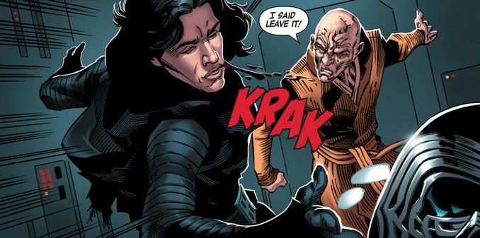 Kylo Ren & Snoke - Star Wars