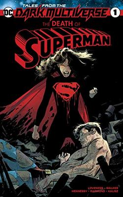 Lois Lane Death Of Superman Dark Multiverse Couverture
