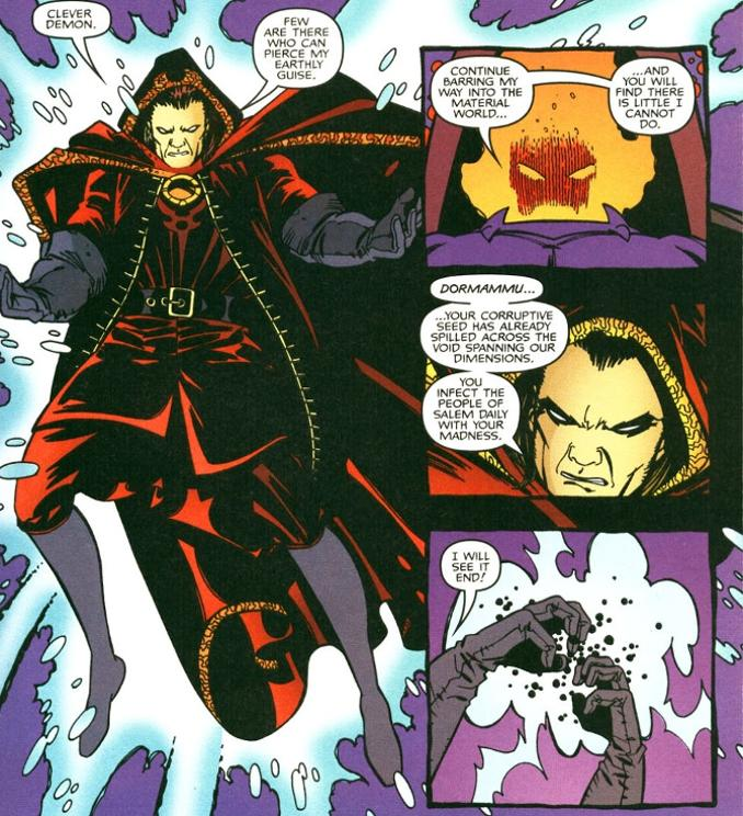 sorcier supreme Marvel Comics