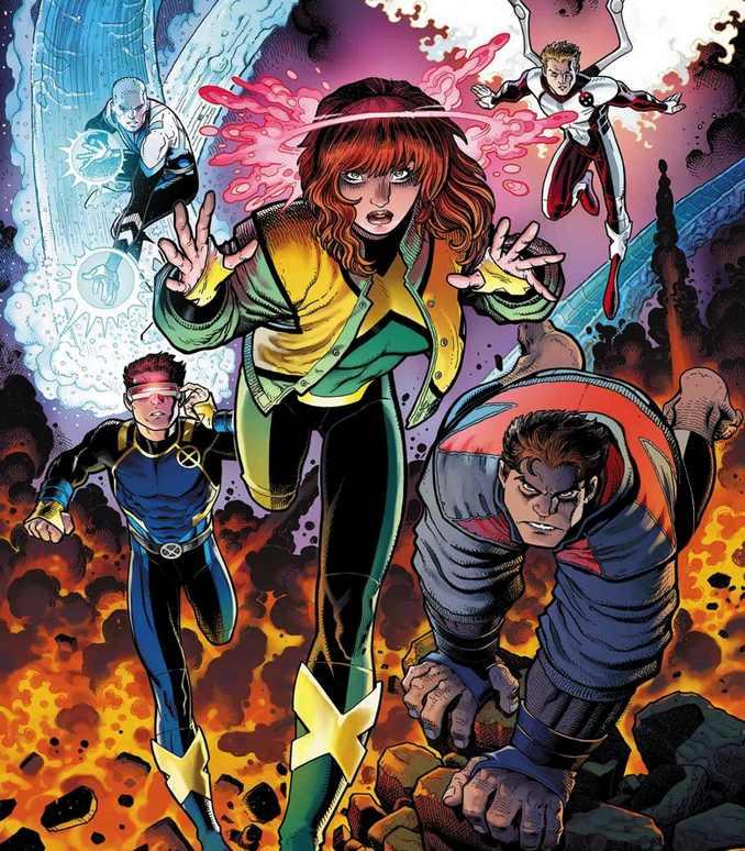 All New X-Men Art Adams