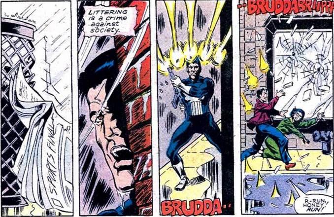 Punisher drogué Amazing Spider-Man