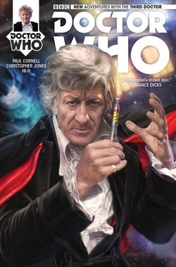 Third Doctor Who - Heralds of destruction couverture