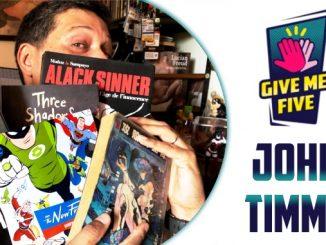 John Timms Give me five comics bandes dessinées essentielles