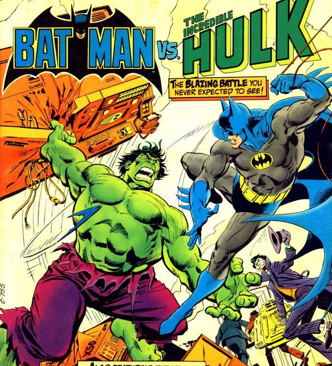 Batman crossover Hulk