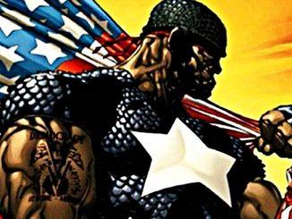 The Truth Captain America black