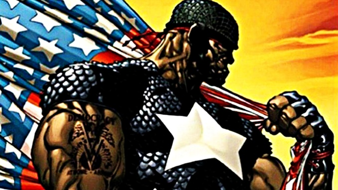 The Truth Captain America black
