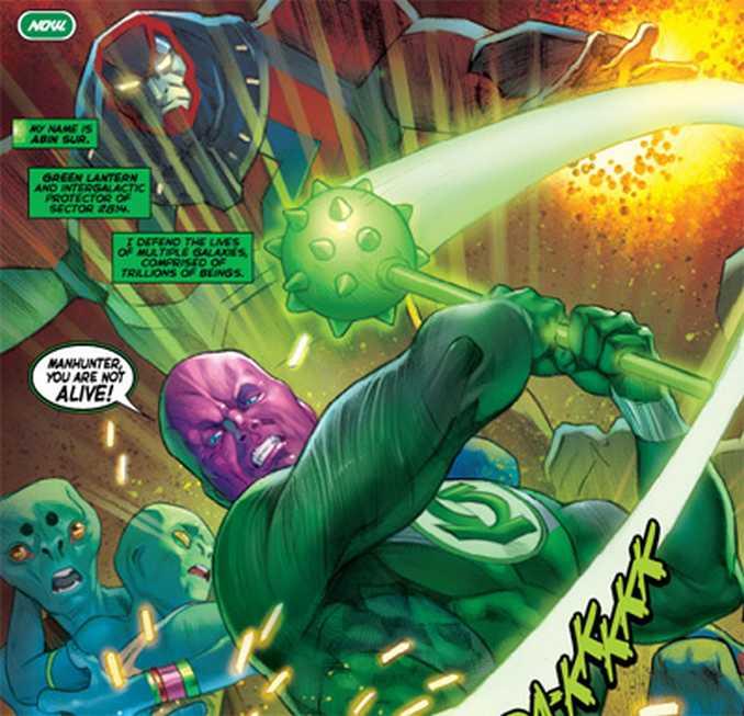 Green Lantern Abin Sur Flashpoint