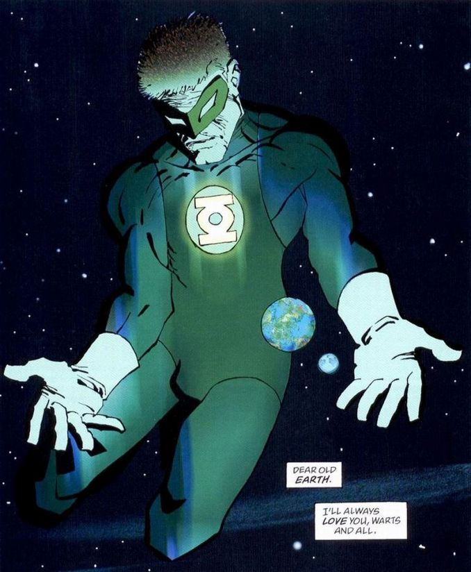 Green Lantern Hal Jordan DK2