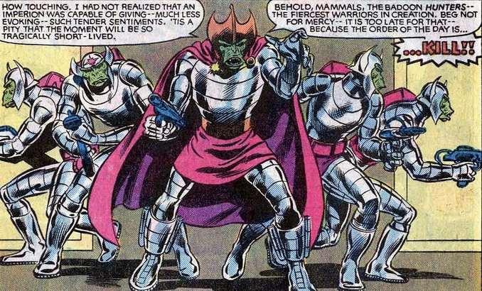 Badoon Uncanny X-Men Annual