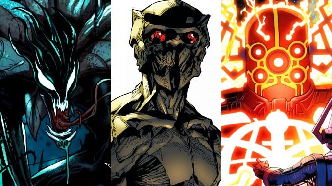 extraterrestres Marvel Comics