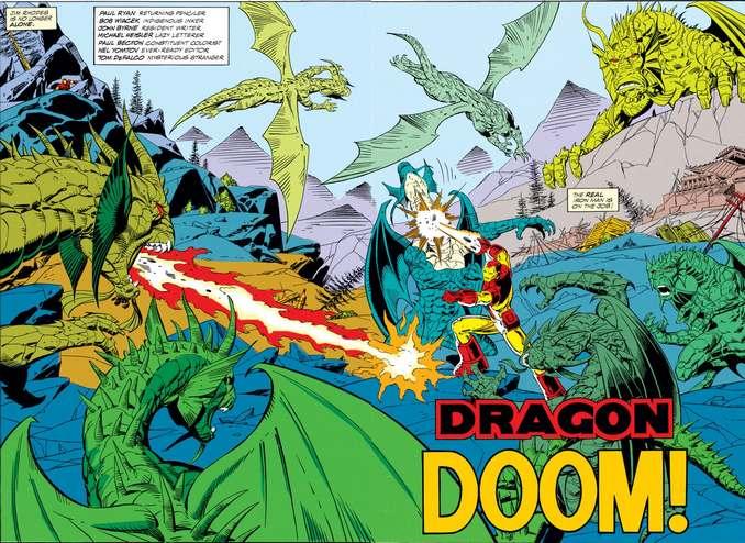 Iron Man Dragon Seed John Byrne Paul Ryan