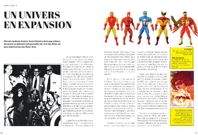 Marvel 80 ans mook