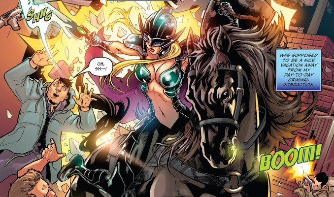 Belle VS Black Knight