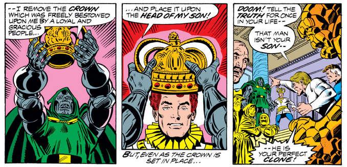 Clone Fantastic Four 199