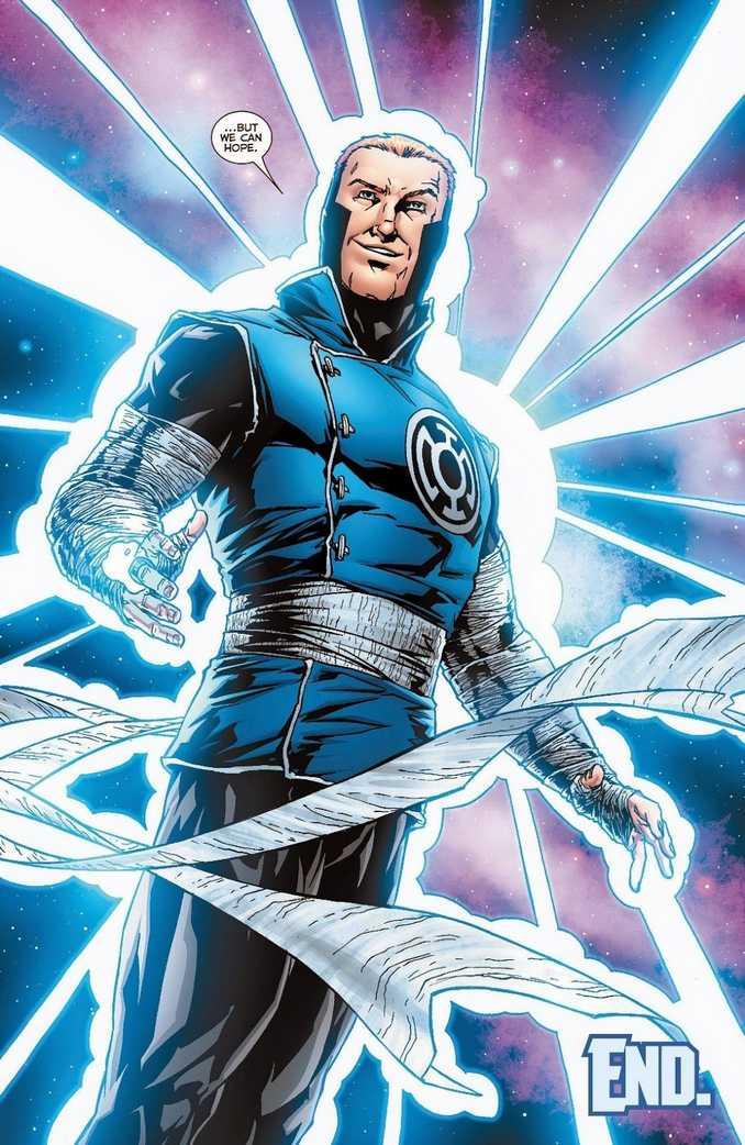 Guy Gardner Blue Lantern Corps