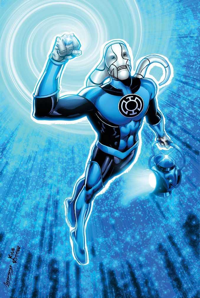 St Walker Blue Lantern Corps