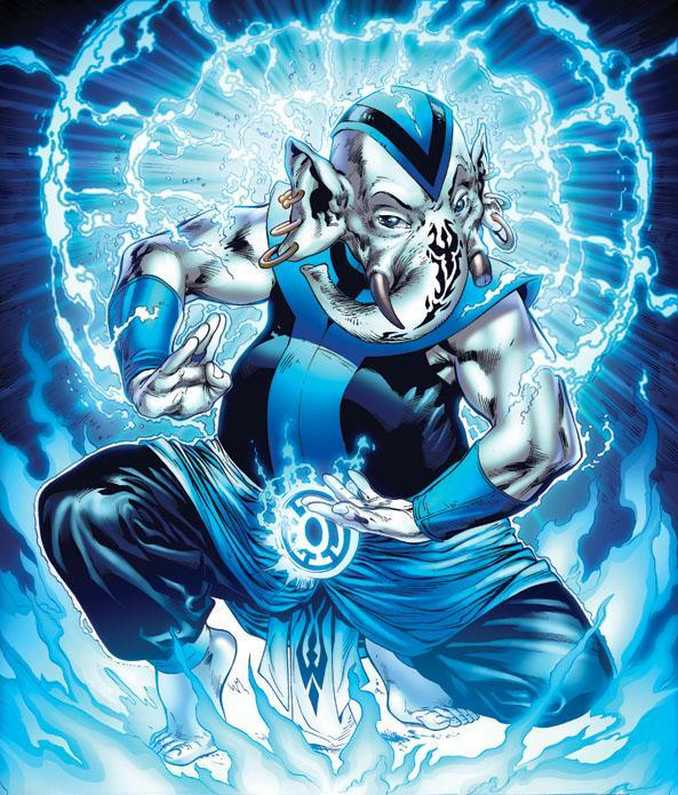 Warth Blue Lantern Corps