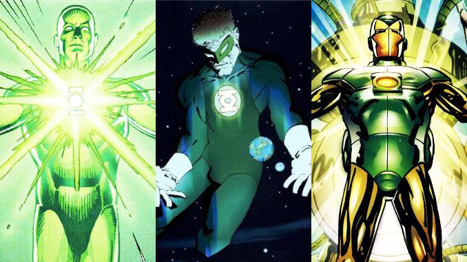 Green Lantern puissants