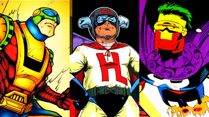 superhéros marvel ridicules