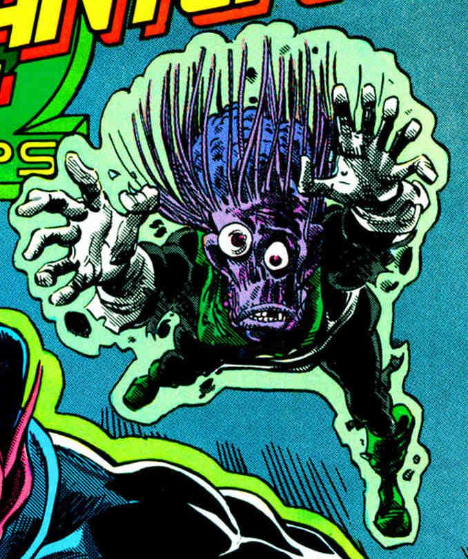 Driq, victime de Sinestro