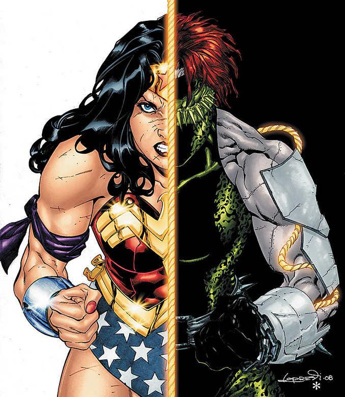 Wonder Woman et son propre cadavre, Génocide