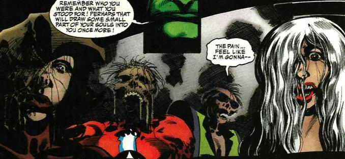 La ligue de justice zombie