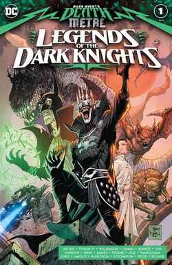 Death Metal Legends of Dark Knights couv