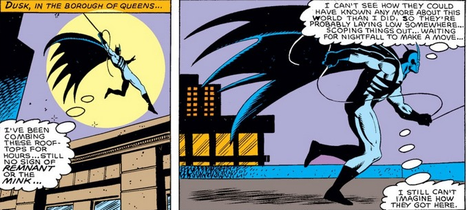 Nighthawk Captain America 314