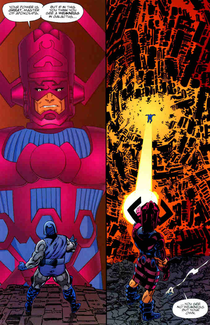 John Byrne Darkseid