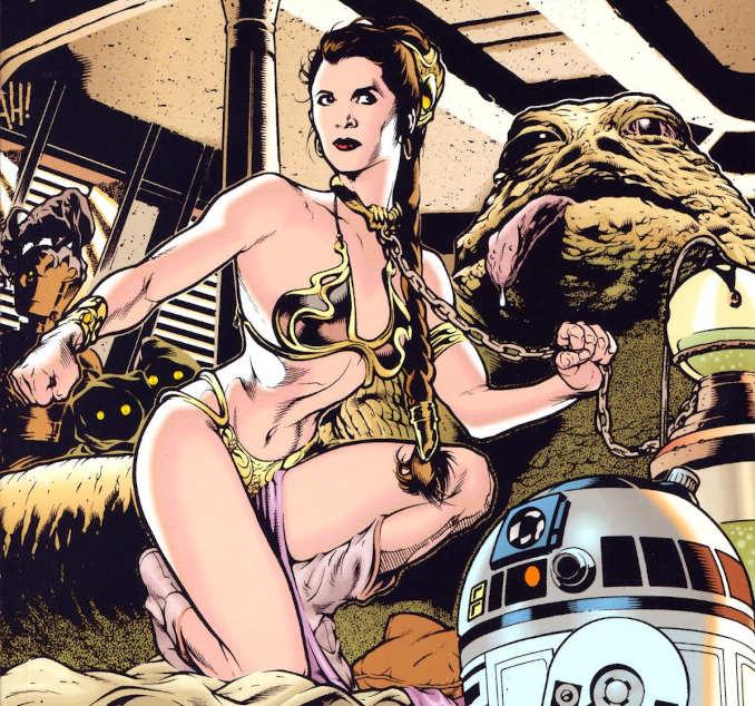 sexy Star Wars leia