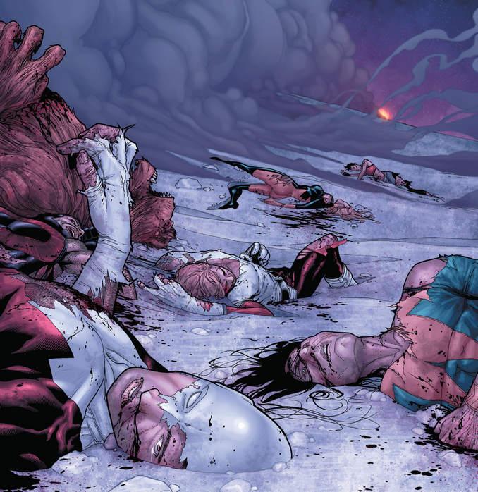 New Avengers mort d'Alpha Flight