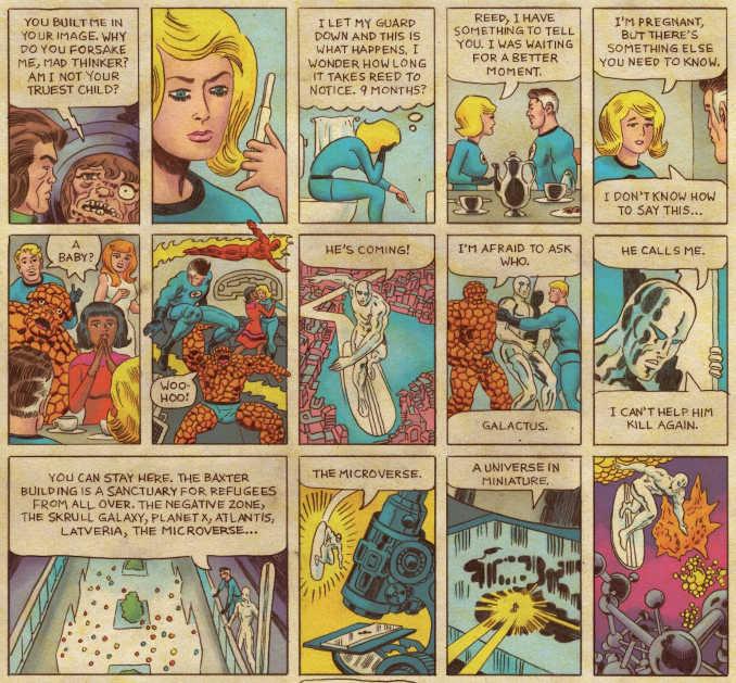 comics Fantastic Four Grand Design