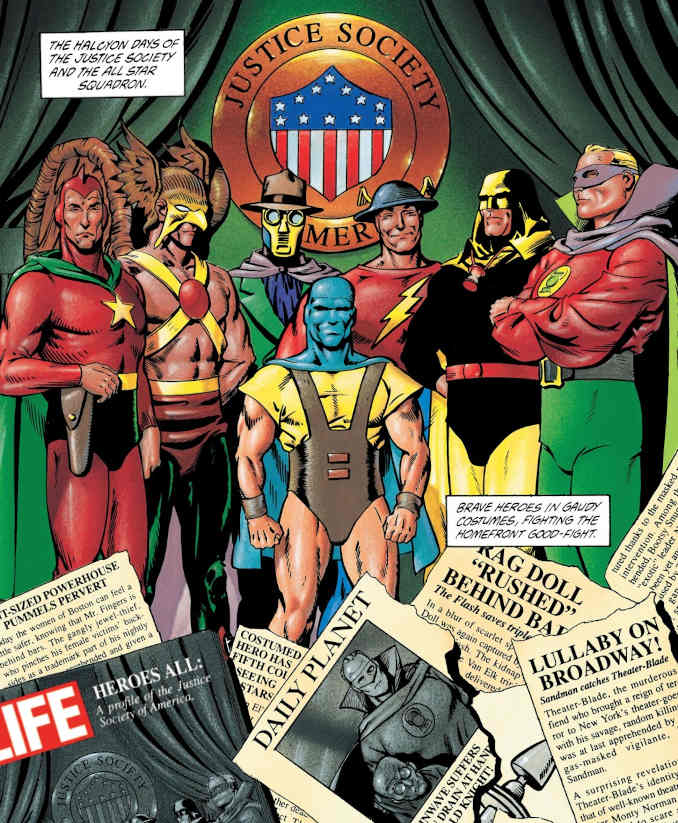 jsa golden age d'or